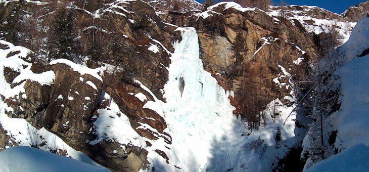 Sortie cascade de glace – Janvier 2018