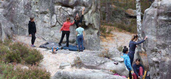 Fontainebleau – Les débuts en forêt